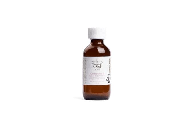 Om Edibles Rose Geranium Bath & Body Oil