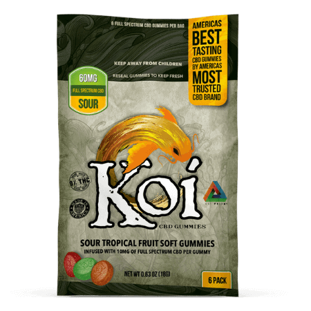 KOI CBD Gummies and Softgels