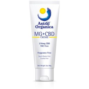 Show the Astral Organica Magnesium and CBD Creme