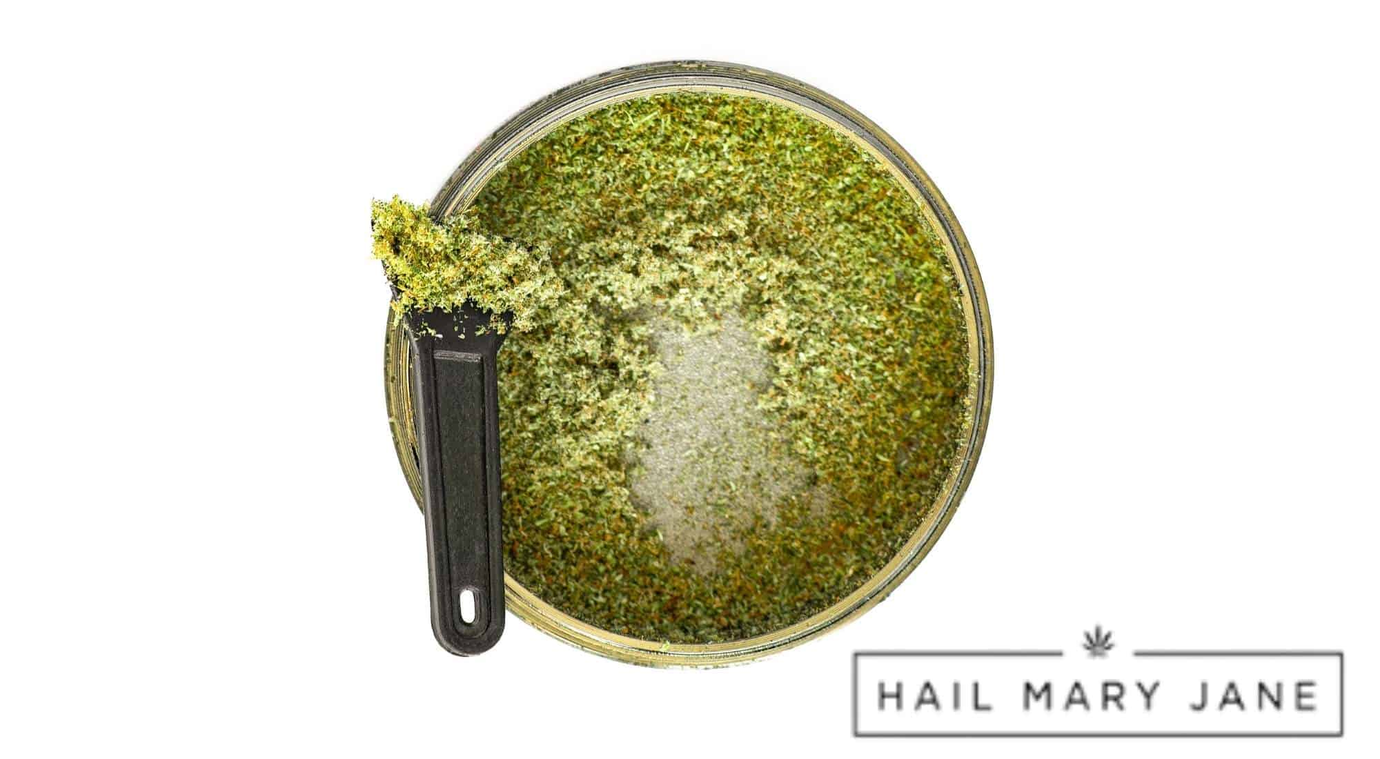 how much kief to use